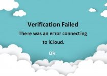 Error connecting to iCloud