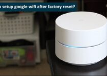 factory reset google wifi