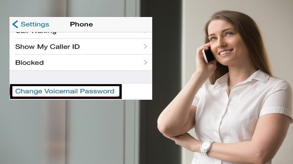 Change voicemail password