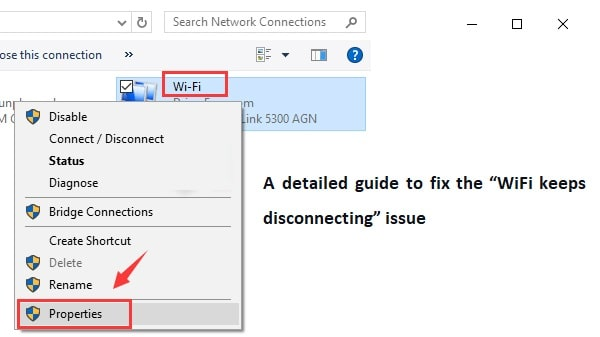 WiFi keeps disconnecting