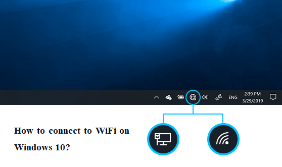connect to WiFi on Windows 10